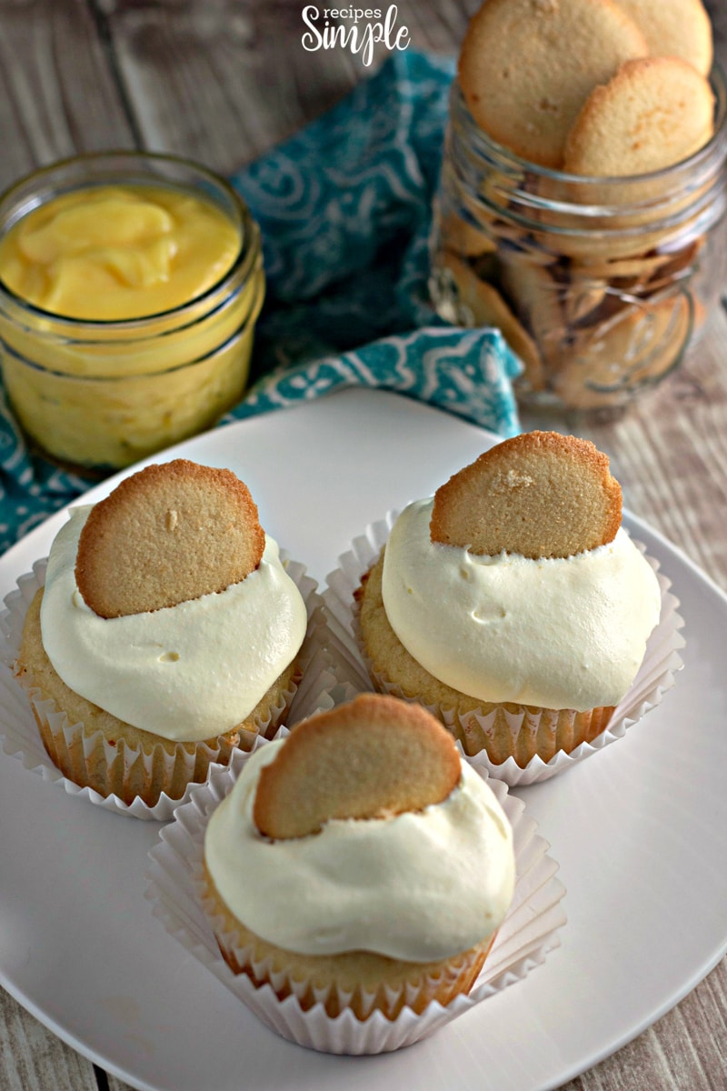 Banana Pudding Cupcakes Package Recipe