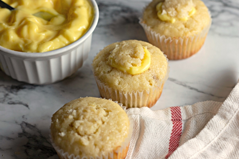 Banana Pudding Cupcakes Process