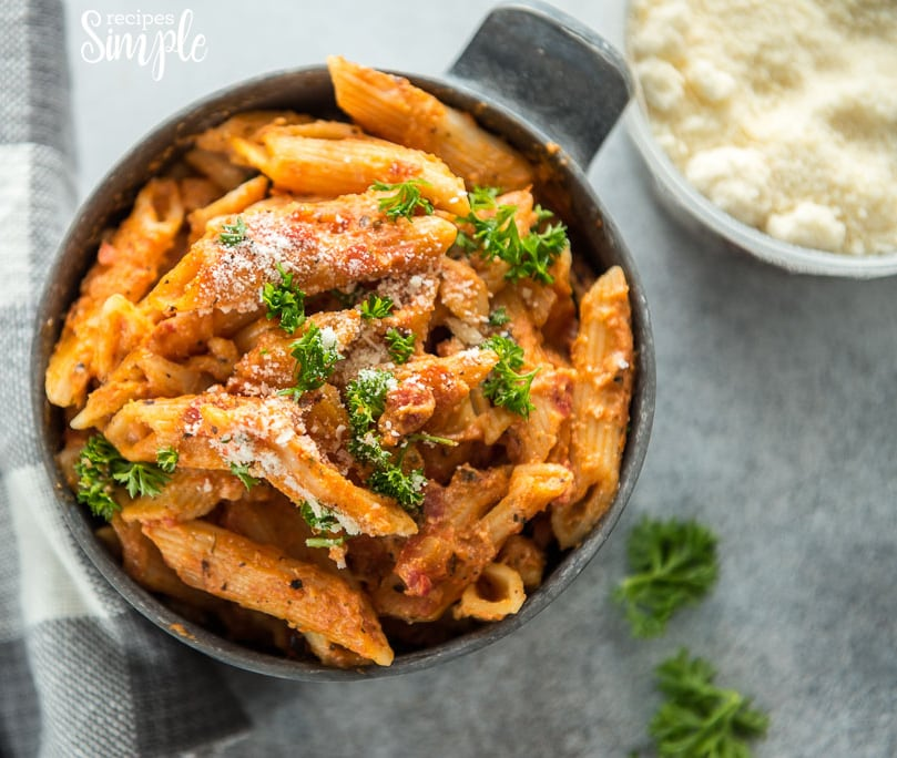 Easy Instant Pot Five Cheese Ziti