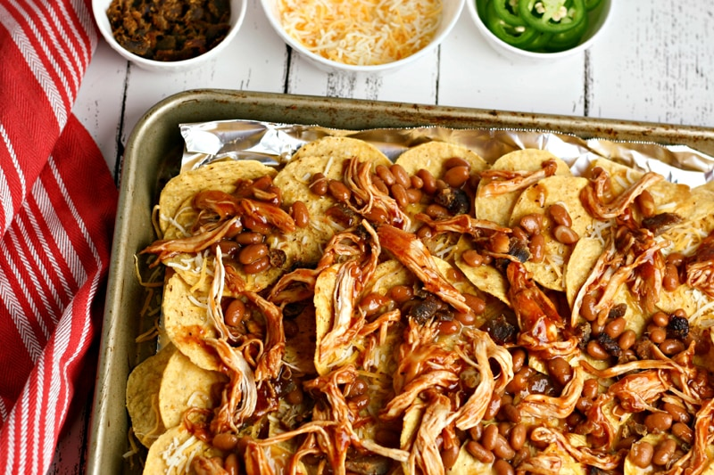 How To Make BBQ Chicken and Bacon Nachos