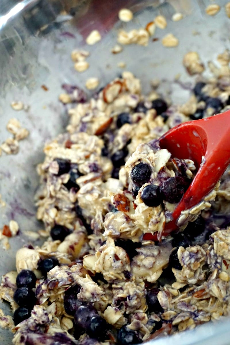 How To Make Blueberry Almond Oatmeal Cups