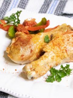 Slow Cooker Chicken Paprika