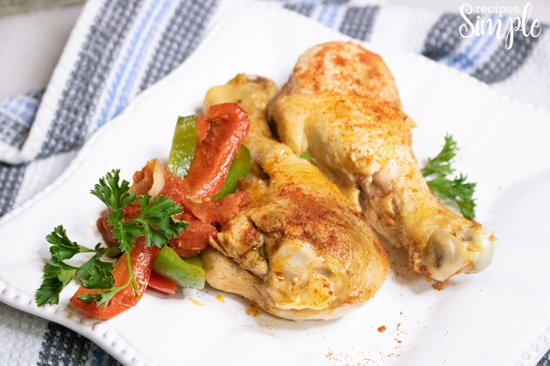 Crockpot Chicken Paprika