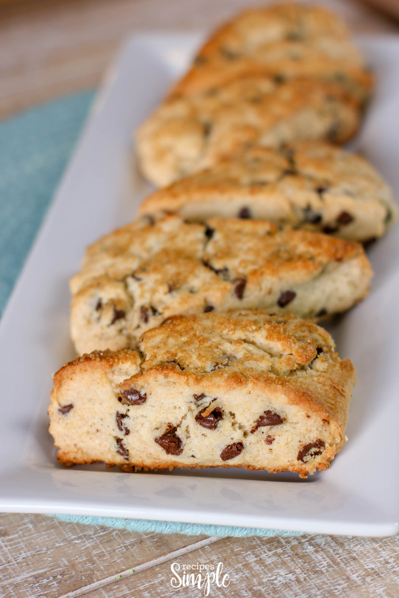 Easy Chocolate Chip Scones Recipe