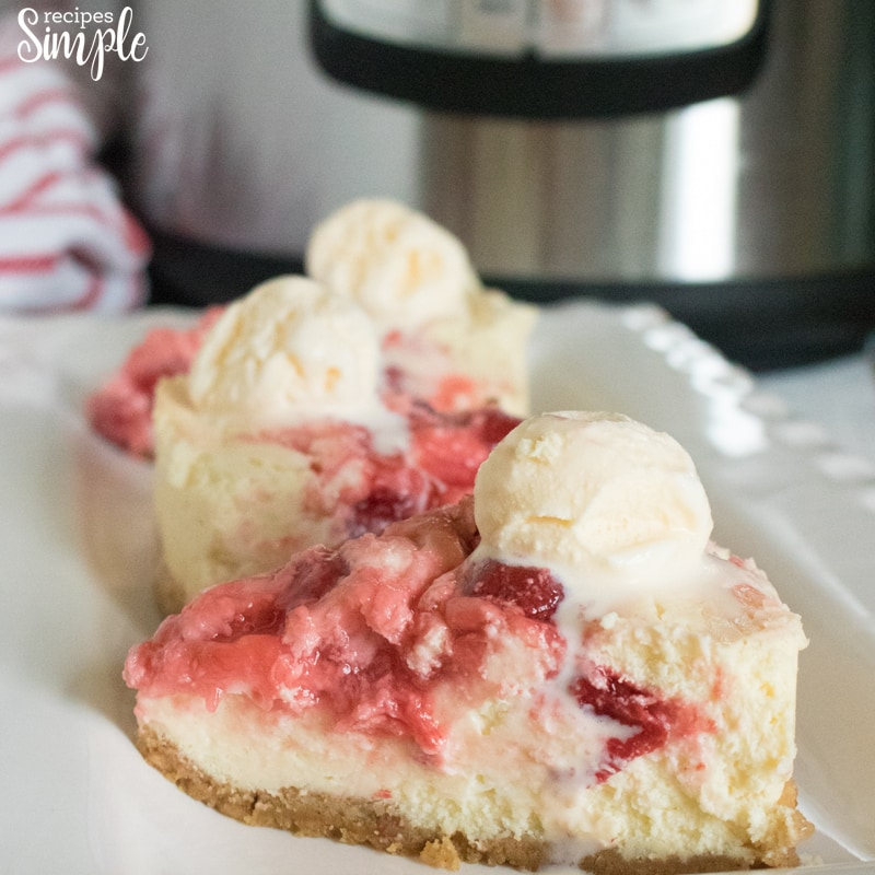 How To Make Instant Pot Cherry Cheesecake