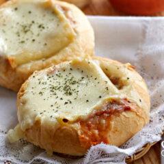 Lasagna Garlic Bread Bowls