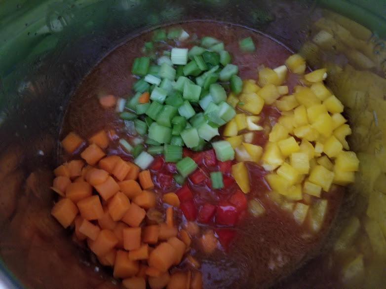 Pasta Fagioli Soup Steps 9-12