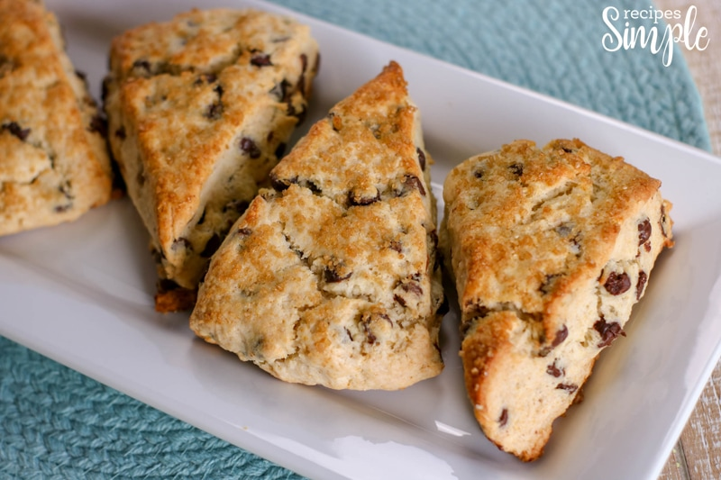 Scones Chocolate Chip