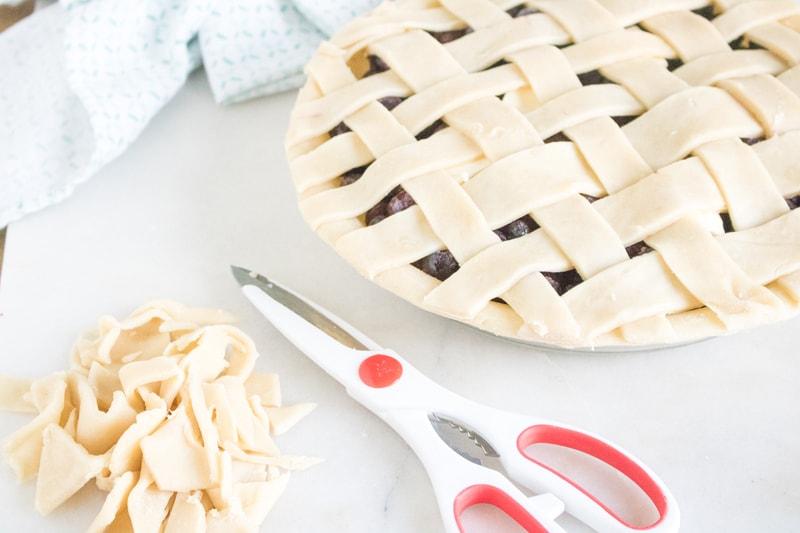 Blueberry Lattice Pie Crust