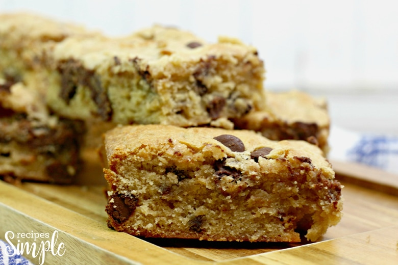 Chunky Monkey Blondies Recipe