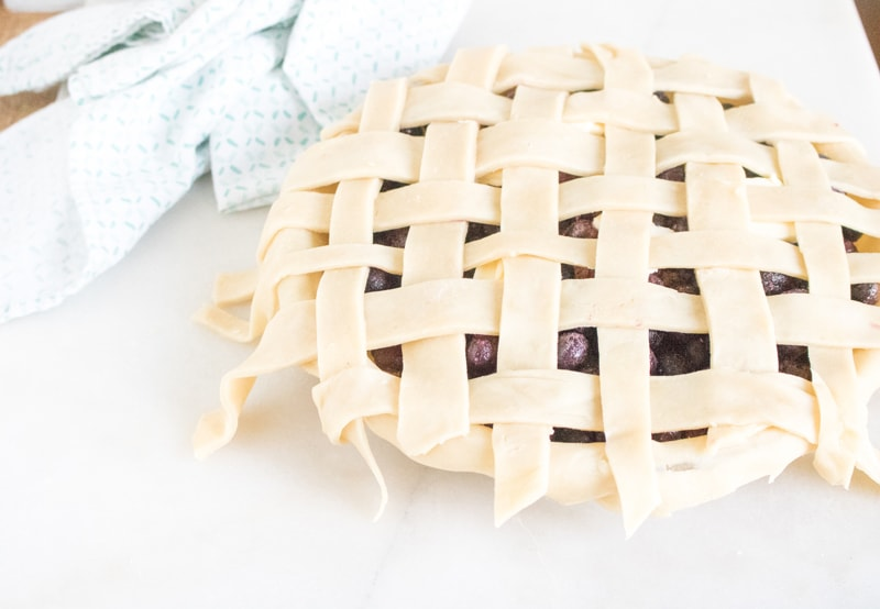 How To Make Blueberry Pie Crust