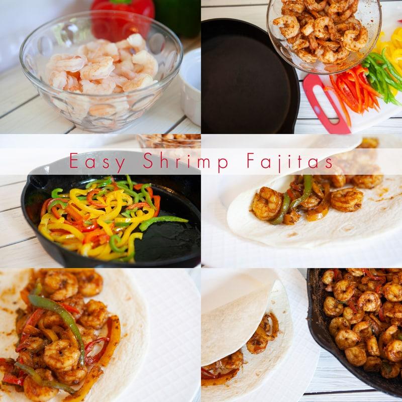 How To Make Shrimp Fajitas Skillet