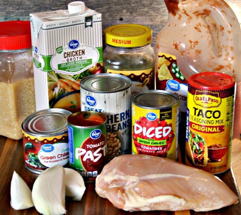 White Chicken Chili Recipe Ingredients