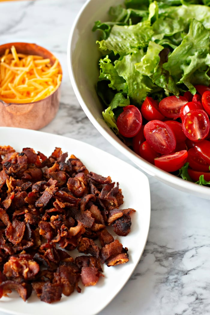 BLT Salad Ingredients