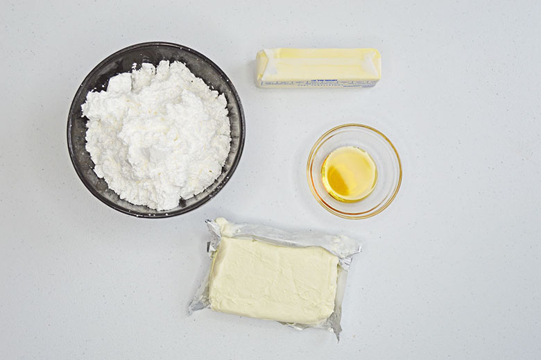 Cheesecake Frosting Ingredients