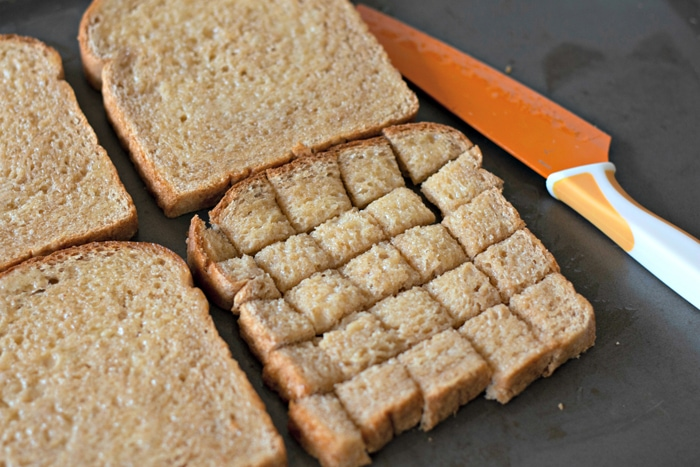 Whole Wheat Bread Croutons