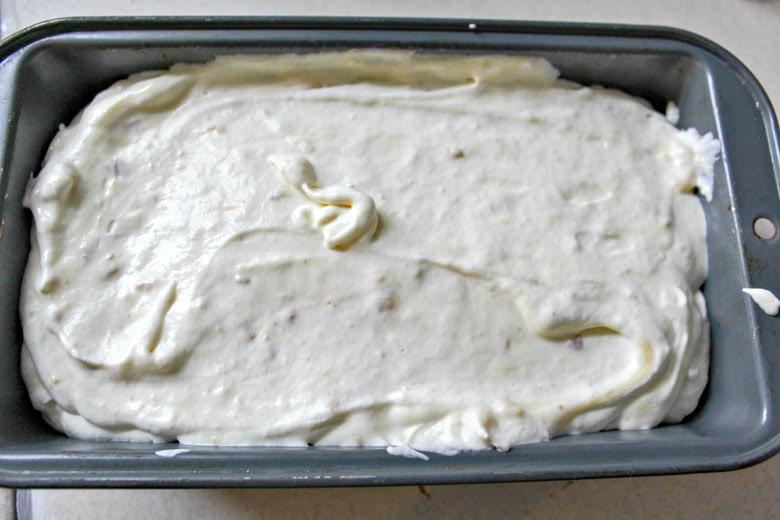 Banana Pudding Ice Cream In Pan