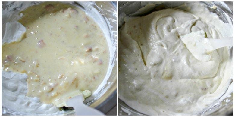 Banana Pudding Ice Cream Mixture