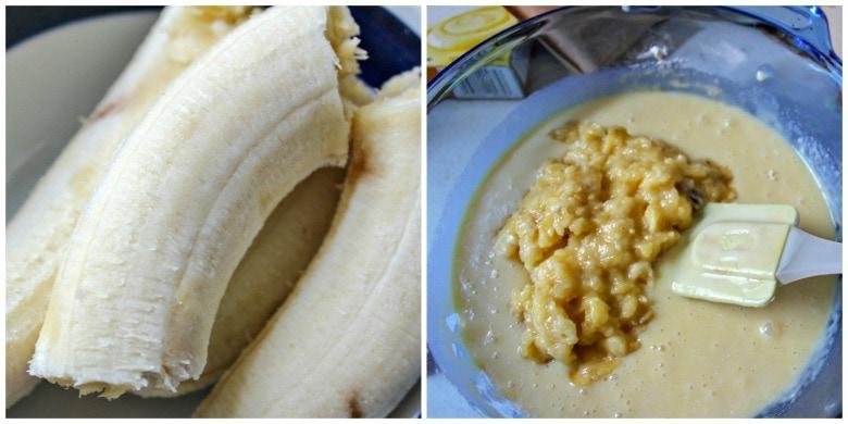Banana Evaporated Milk Mixture