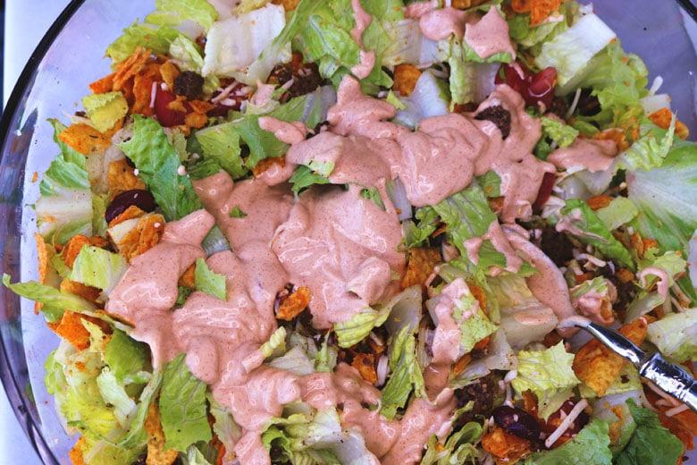 Doritos Taco Salad Dressing