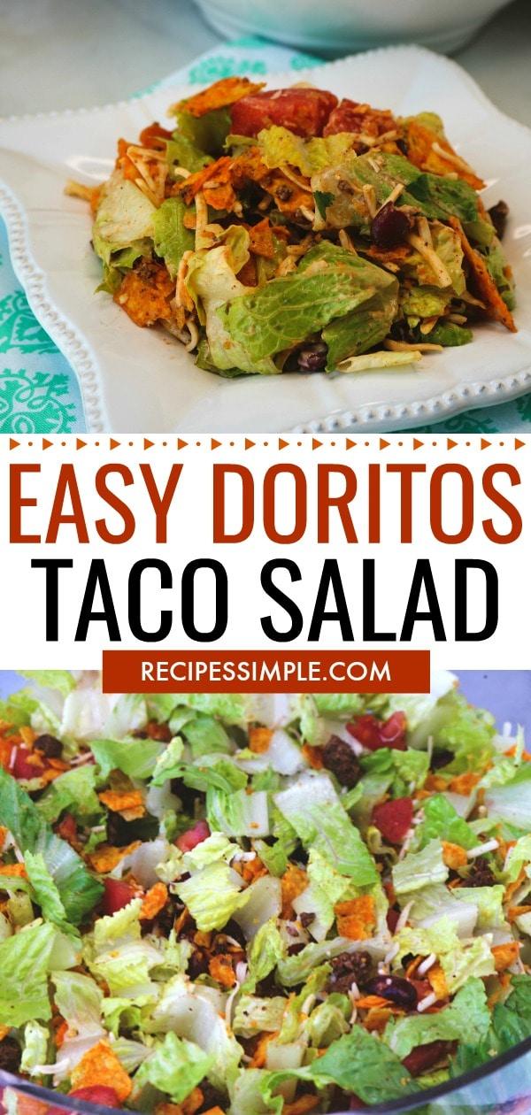 Easy Doritos Taco Salad