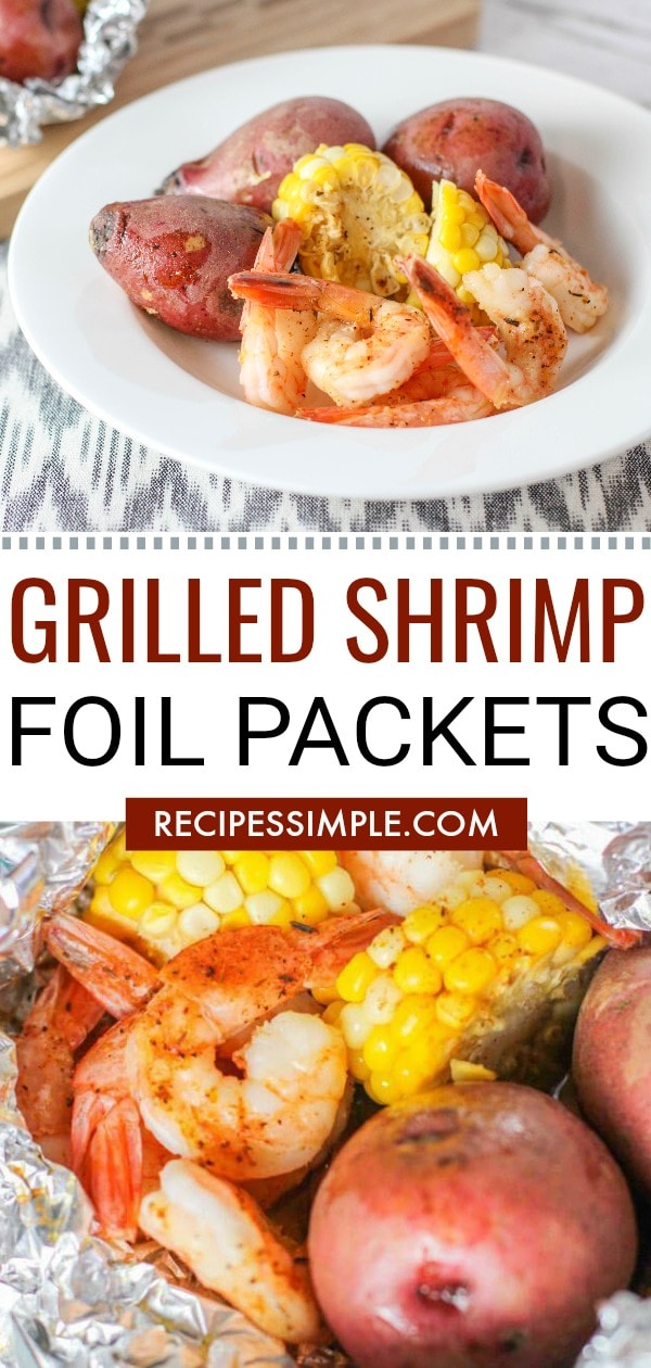 Easy Grilled Shrimp Pin