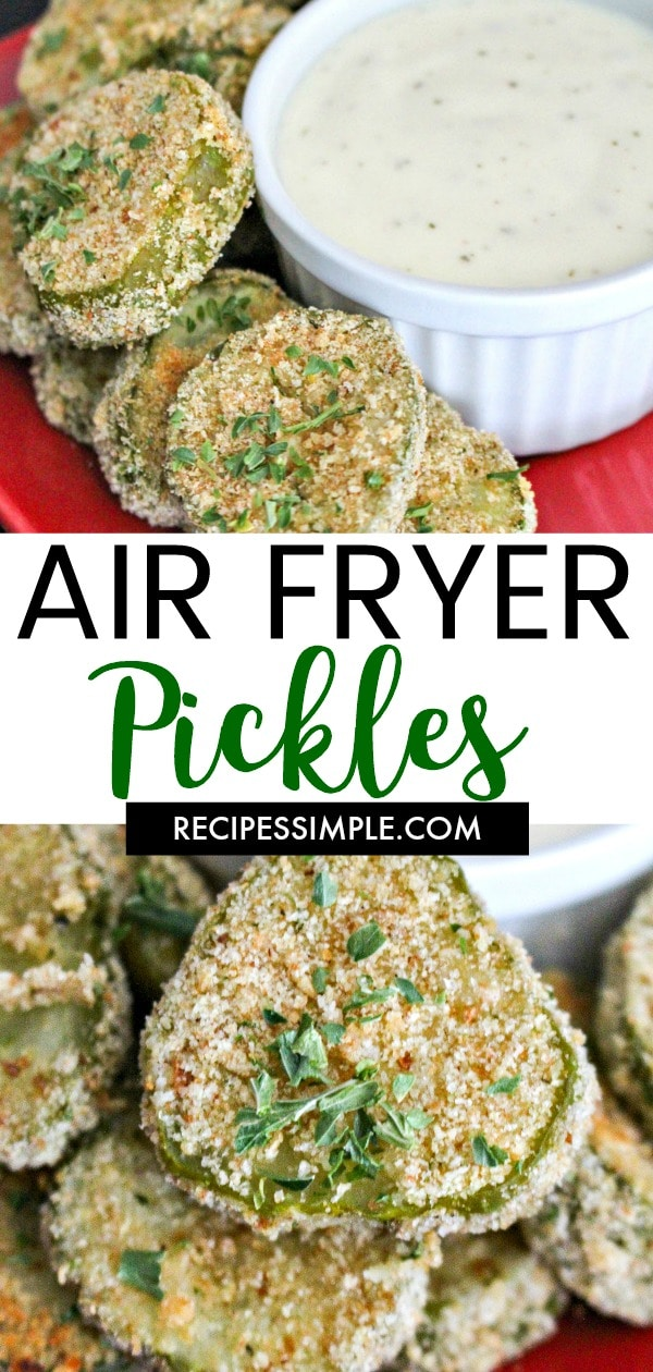 Crispy Air Fryer Pickles Recipe