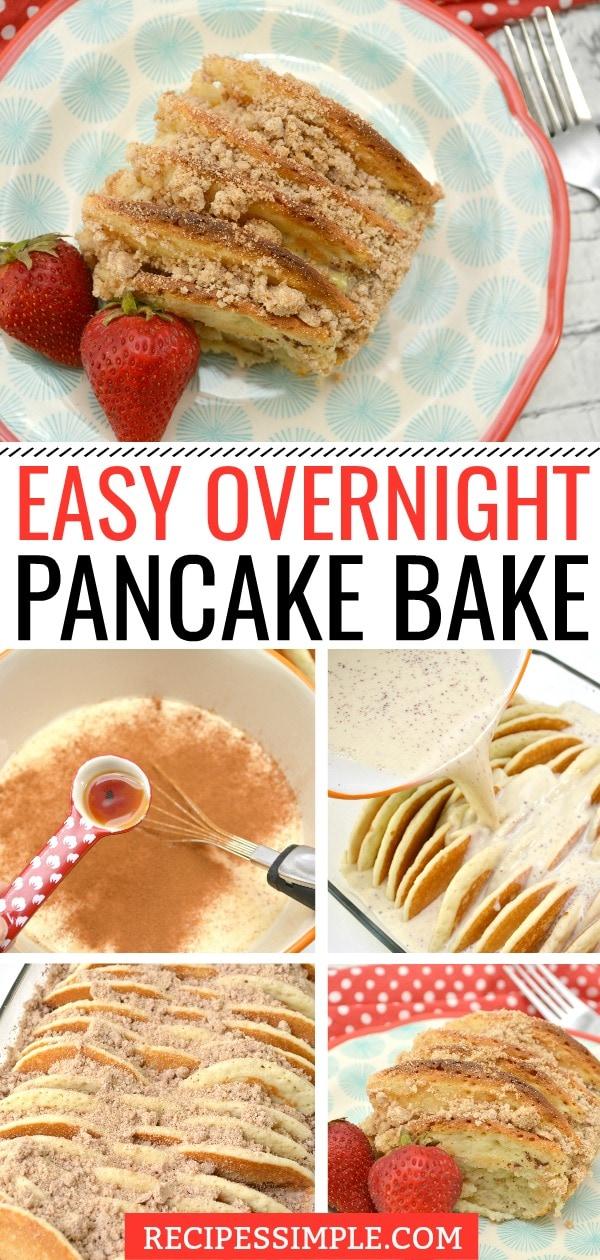 Easy Overnight Pancake Bake