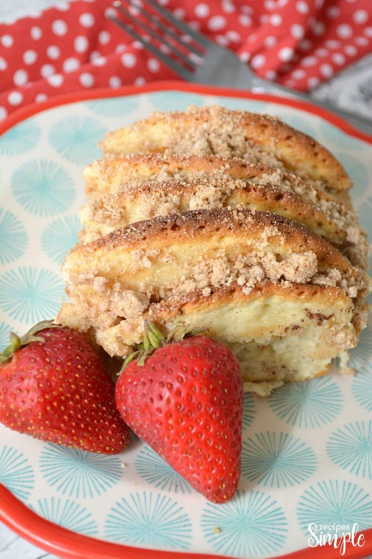 Easy Pancake Breakfast Bake