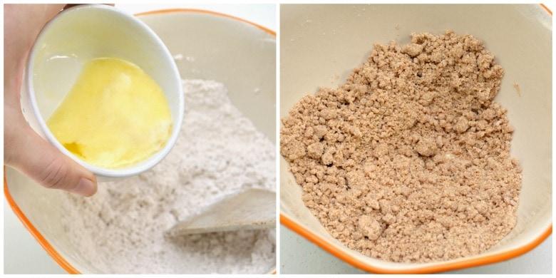 Pancake Bake Crumble Topping