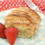 Pancake Breakfast Bake On Plate