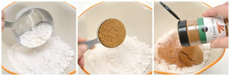 Pancake Bake Flour Brown Sugar Mixture