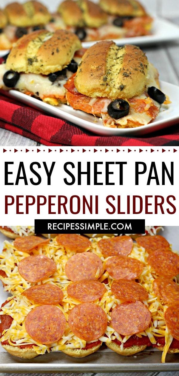 Pepperoni Sliders Recipes