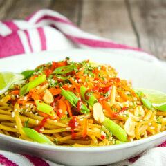 Spicy Thai Noodles Bowl